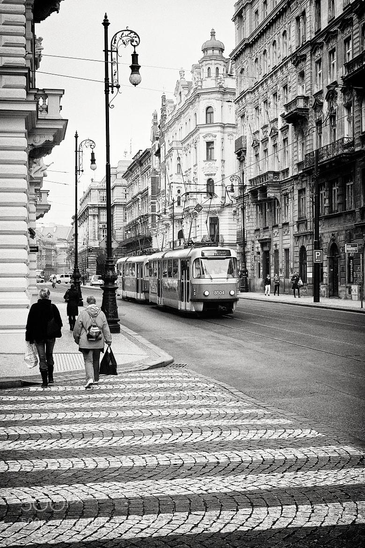 Photograph Prague street by Katalin Gerencsér on 500px