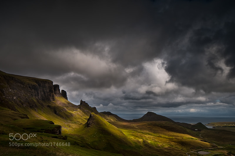 Photograph Quiraing - Isle of Skye by Dale Richardson on 500px