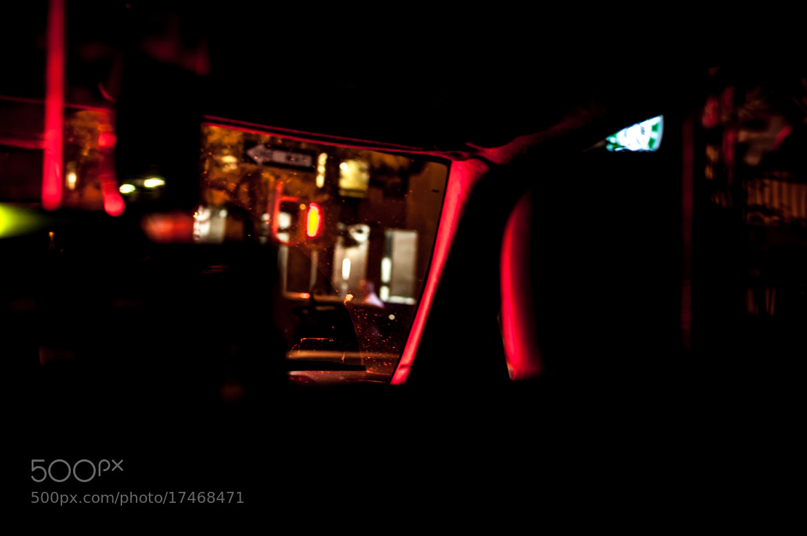 Photograph Cab at Night, interior by Kurt Nelson on 500px