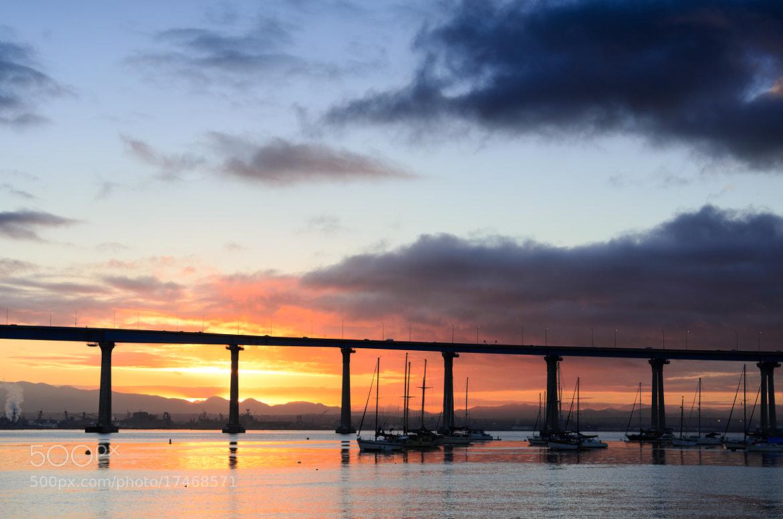 Photograph Sunrise under the Bridge by Jeffery Wang on 500px