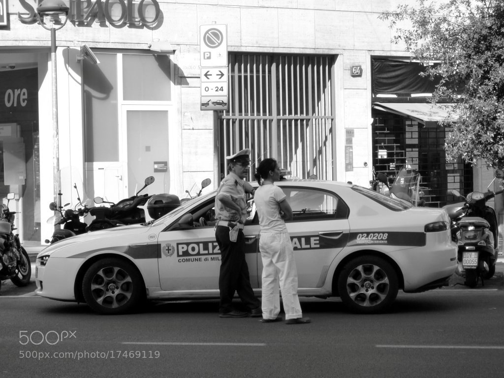Photograph Urban police by Matteo Barlassina on 500px