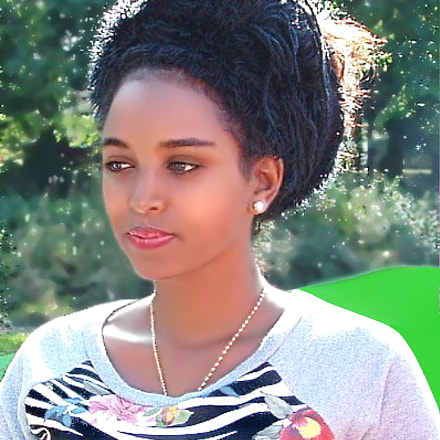 Eritrean beautiful woman, Fujifilm FinePix S3000