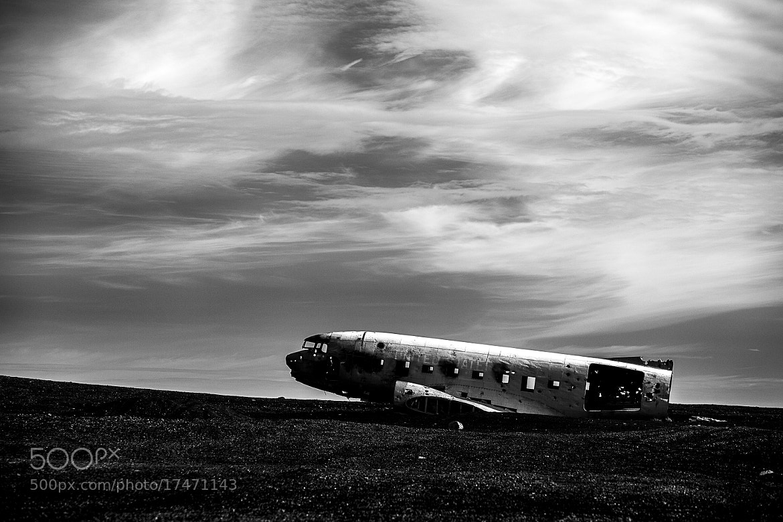Photograph DC3, Solheimasandur, Iceland by Hermann Sigurdsson on 500px