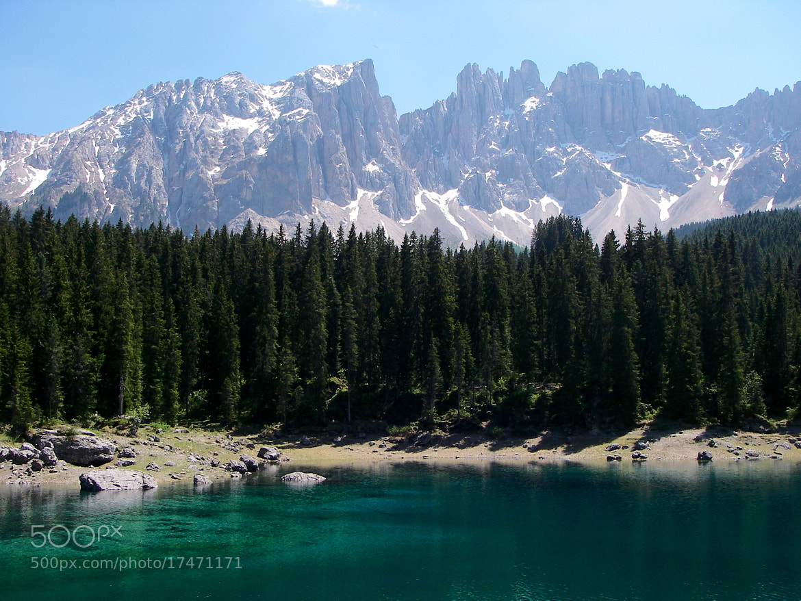 Photograph Lago di Carezza in the Dolomites by Christopher Hunt on 500px