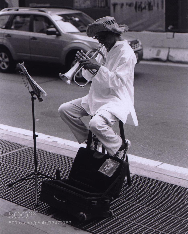 Photograph Street soloist by Vasilis Argyropoulos on 500px