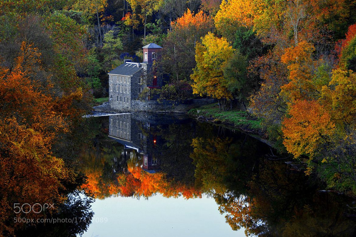 Photograph View from Tyler McConnell Bridge by Ann J. Sagel on 500px
