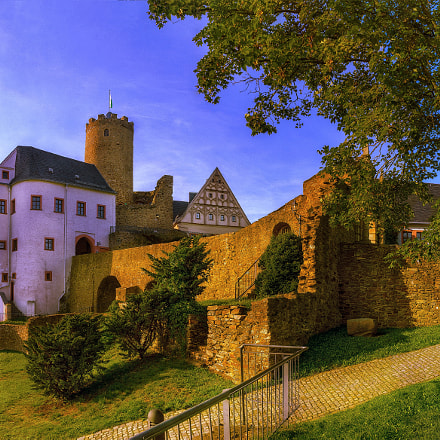 Castle Scharfenstein, Ore Mountains, Sony SLT-A77V, Tamron SP AF 17-50mm F2.8 XR Di II LD Aspherical