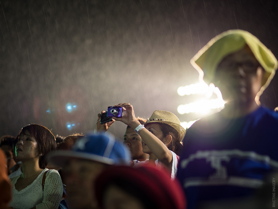 It was a wet Eisa festival