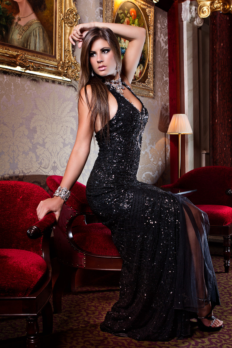 Photograph Mayssa Collection, Black cocktail dress by Marc Richet on 500px