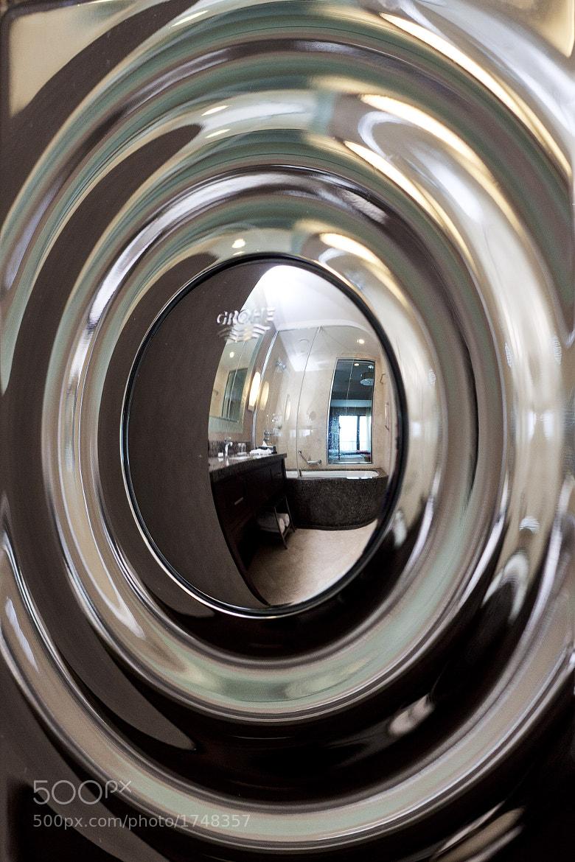 Photograph toilet flush button by Michal Pěček on 500px