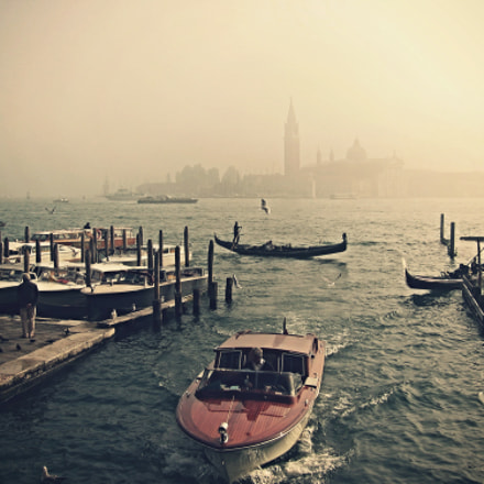 Venice In The Fog, Canon POWERSHOT A510