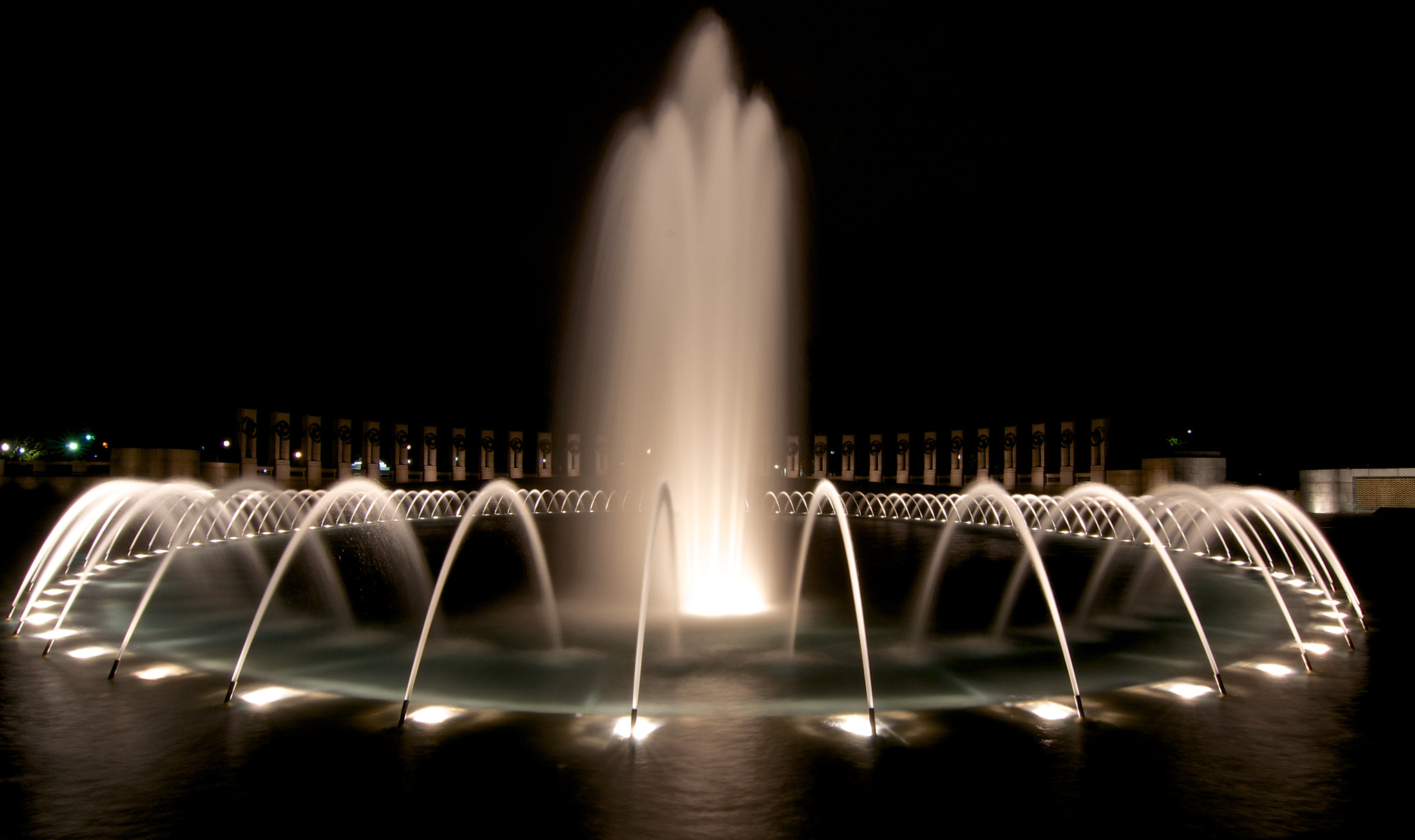 Photograph World War II Memorial by Theodore Kim on 500px