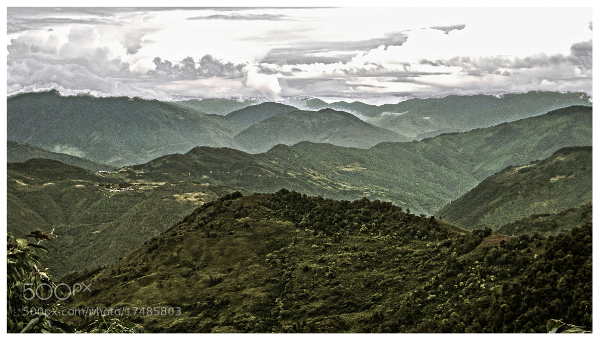 Photograph The mountains by Sajith S on 500px