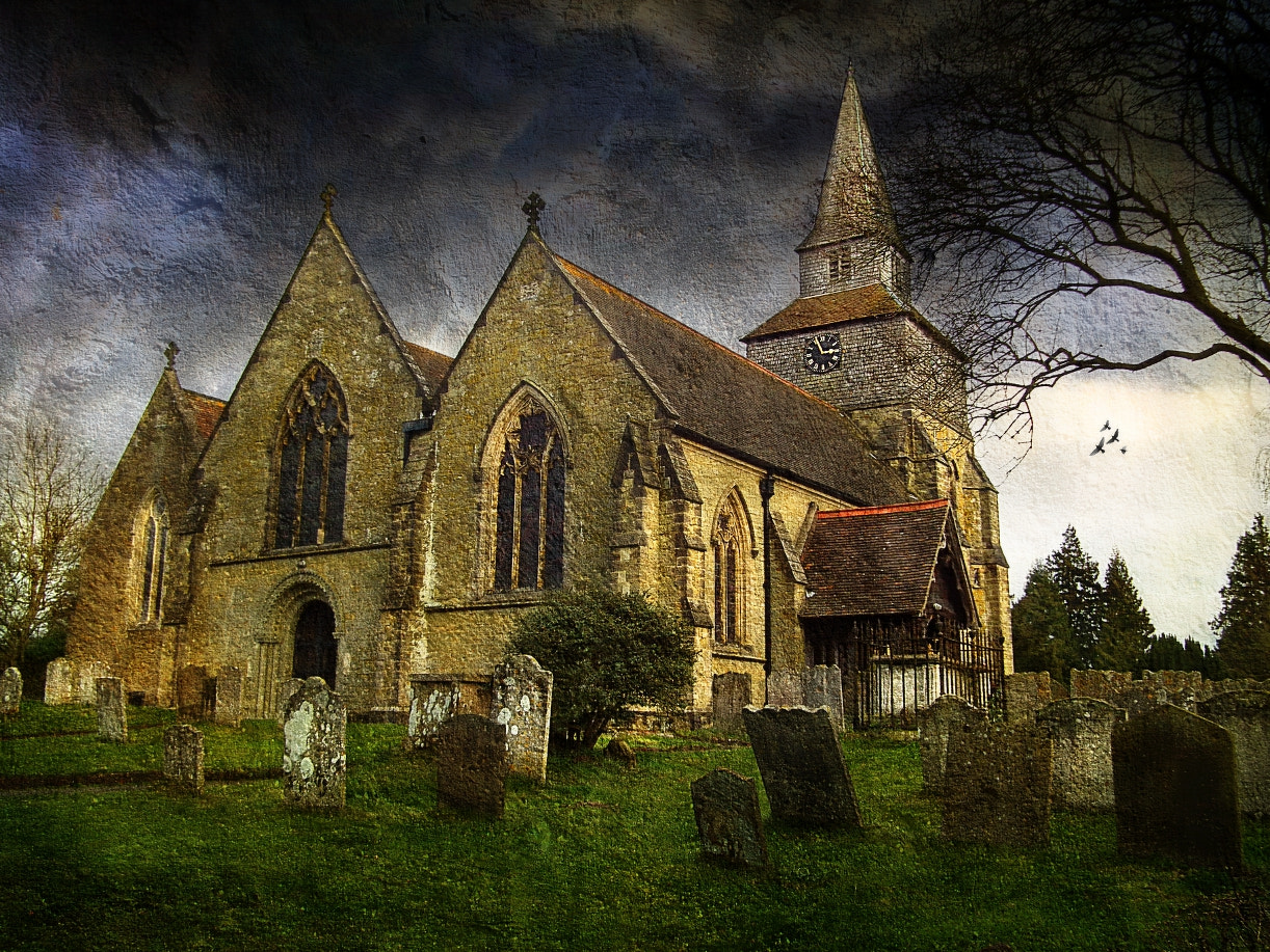 Photograph An English Country Churchyard by Link Bekka on 500px
