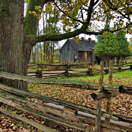 UpperCanadaVillage(), Canon POWERSHOT A3300 IS