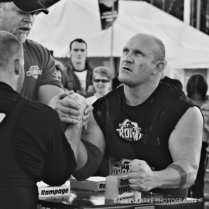 Photograph Strongman arm wrestle by Barry Clarke on 500px