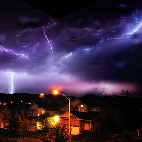 Electric sky by Richerd Reynolds on 500px.com