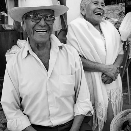 Happy Old Couple, Canon POWERSHOT A610