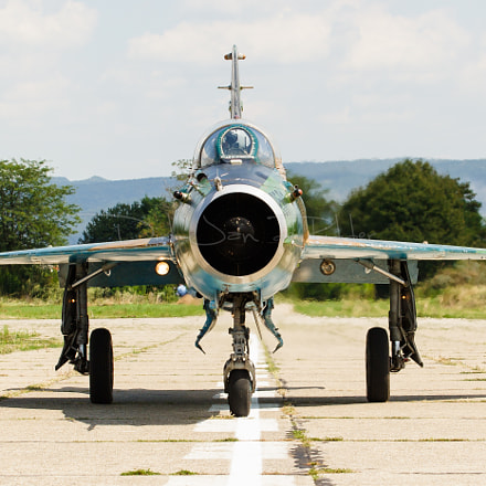 Romanian Air Force MiG-21, Canon EOS 20D, Canon EF 70-200mm f/2.8 L