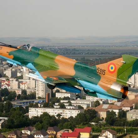 Romanian Air Force MiG-21, Canon EOS 20D, Canon EF 24-105mm f/4L IS