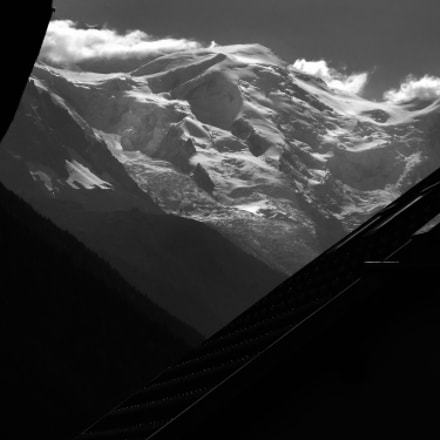 The Mont Blanc massif #3, Sony DSC-W270