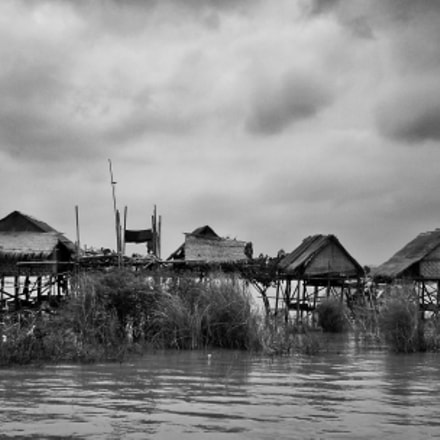 On The Ayawaddy River, Nikon COOLPIX S6000