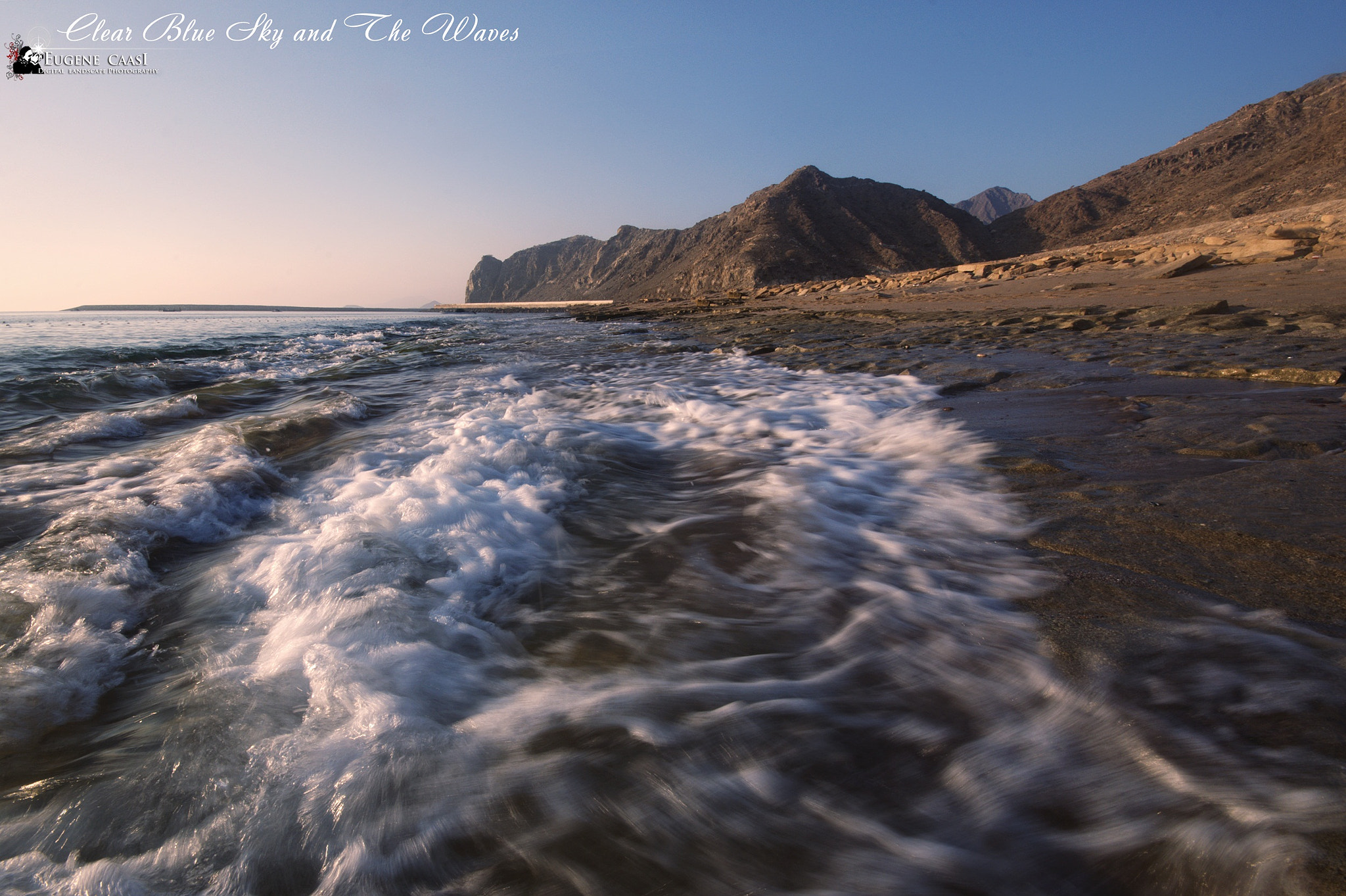 Photograph CLEAR BLUE SKY AND THE WAVES by Eugene Caasi on 500px