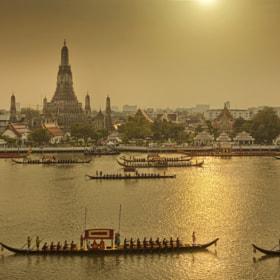 Royal Barge Procession Bangkok by chattakan kosol (yodapix)) on 500px.com