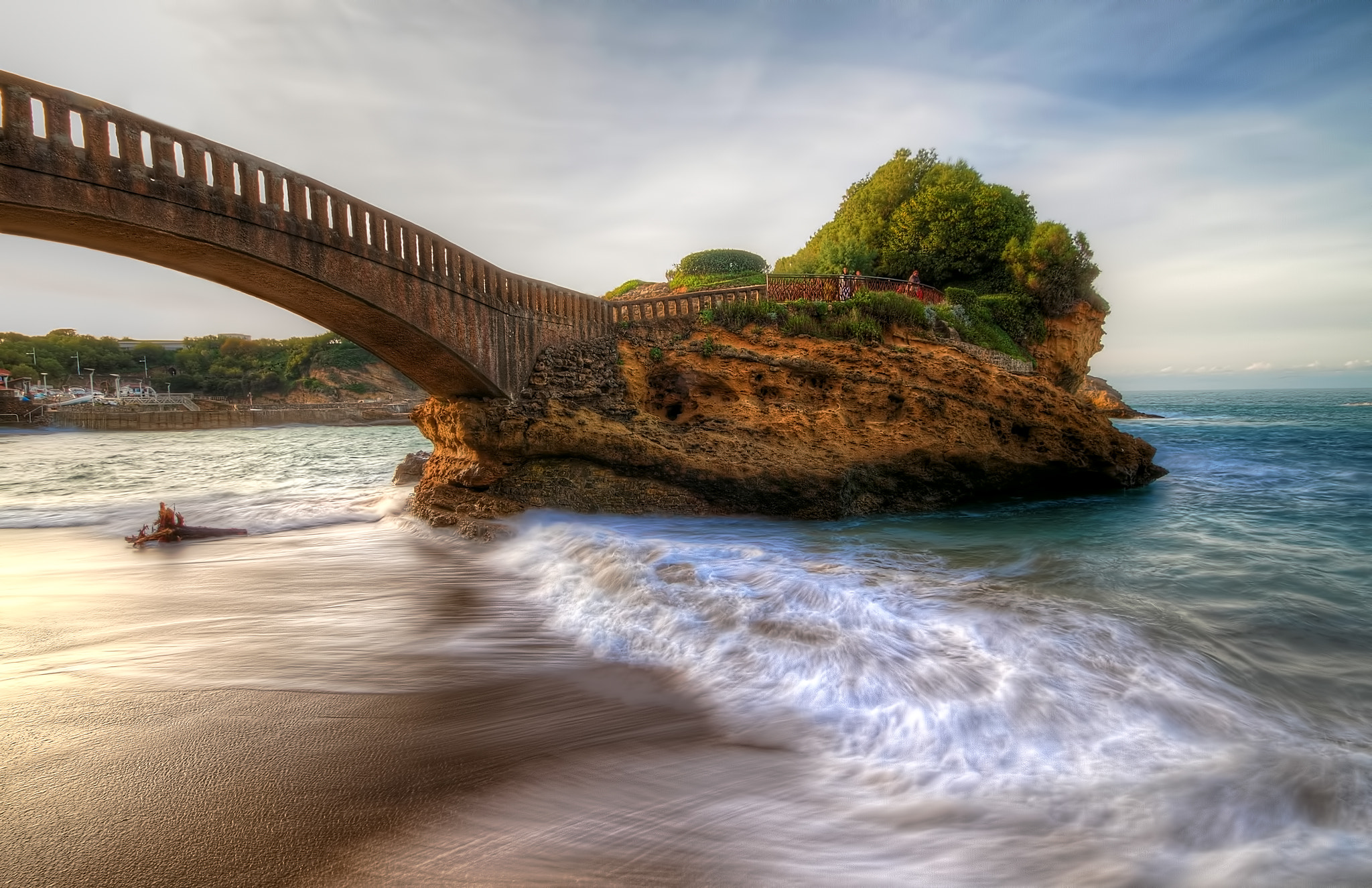 Photograph Biarritz, France by Sylvain Millier on 500px