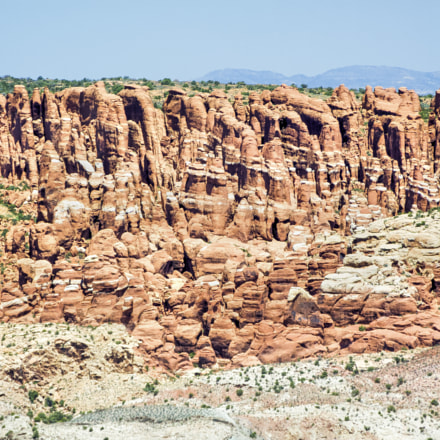 Fiery Furnace at Arches, Fujifilm FinePix S9000