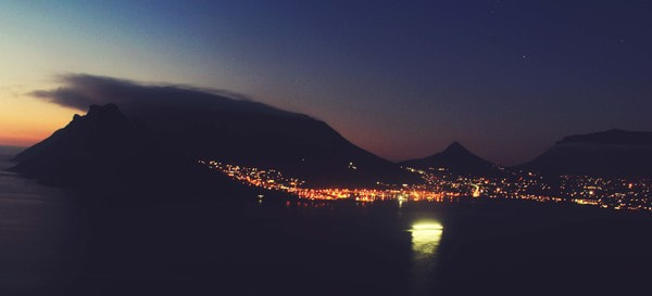 Photograph Midnight in Cape Town by Valerie Lopez on 500px