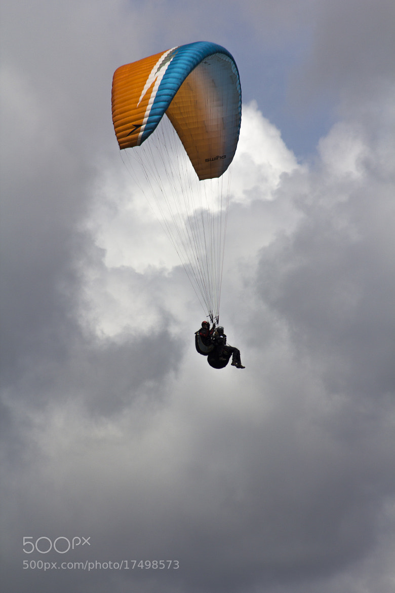 Photograph Paragliding by Juanita  Angel  on 500px