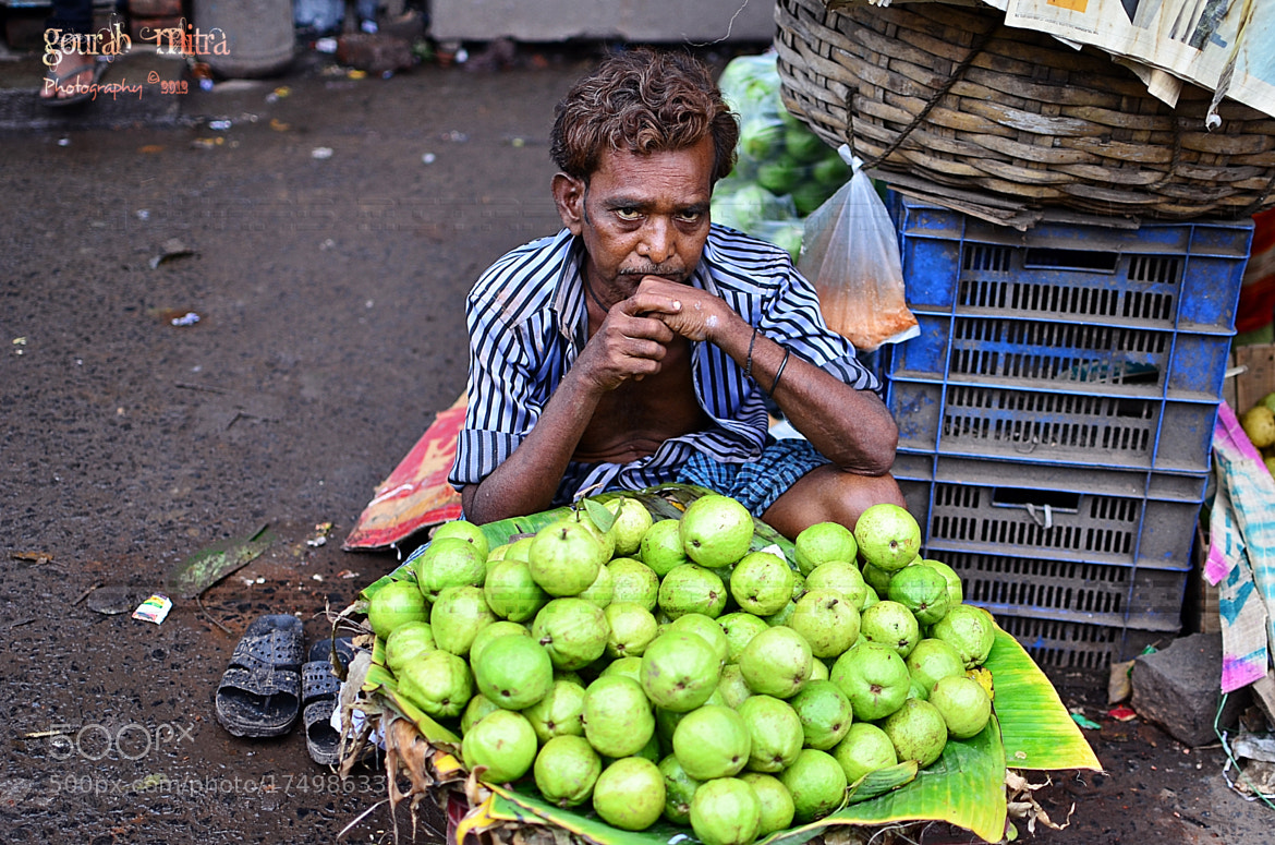 Photograph Fruit Seller by Gourab Mitra on 500px