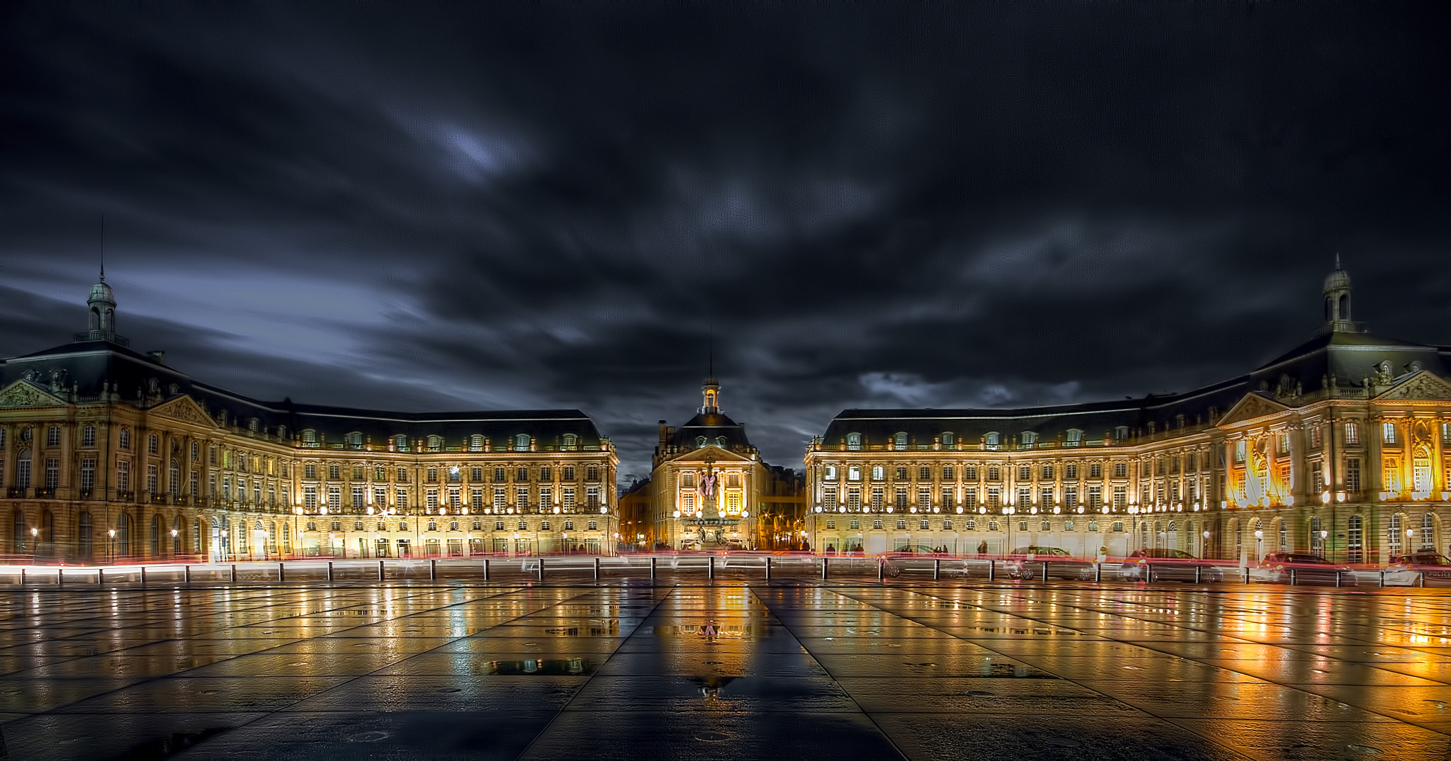 Photograph Bordeaux by night, France by Sylvain Millier on 500px