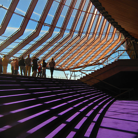 Opera House Interior, Canon POWERSHOT SD800 IS