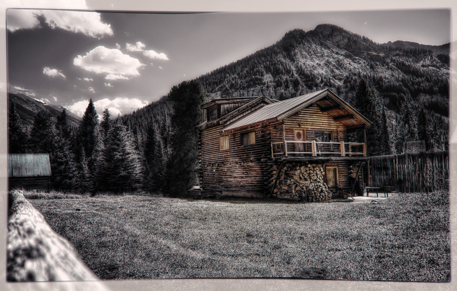 Photograph Cooke City Cabin by Ian McConnell on 500px