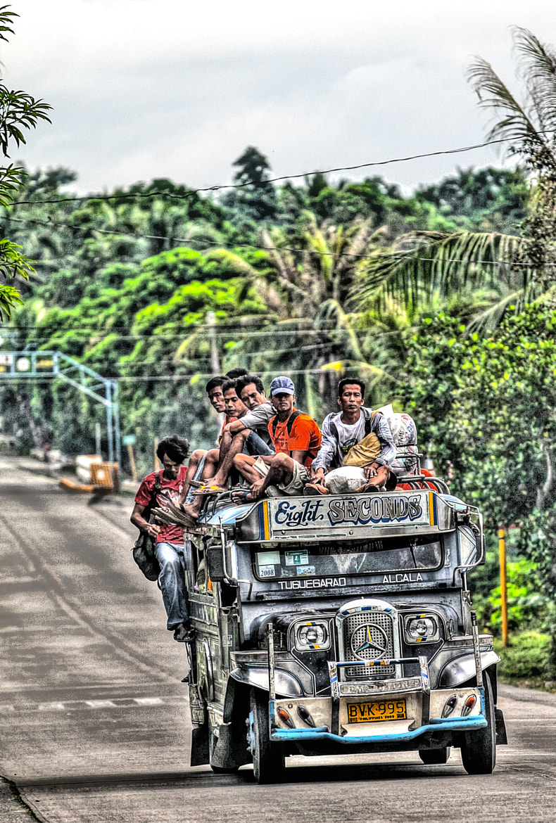 Photograph Jeepney by dave balisi on 500px