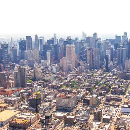 New York aerial view, Canon POWERSHOT A520
