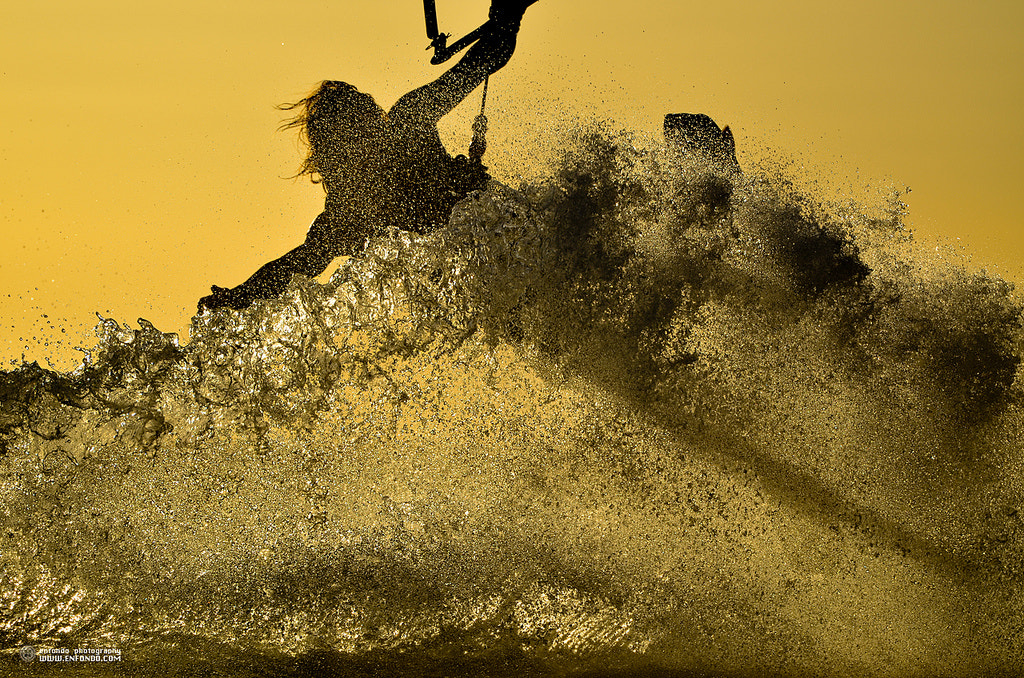 Photograph sunset kite session (Mike Blomvall) by  ENFONDO on 500px