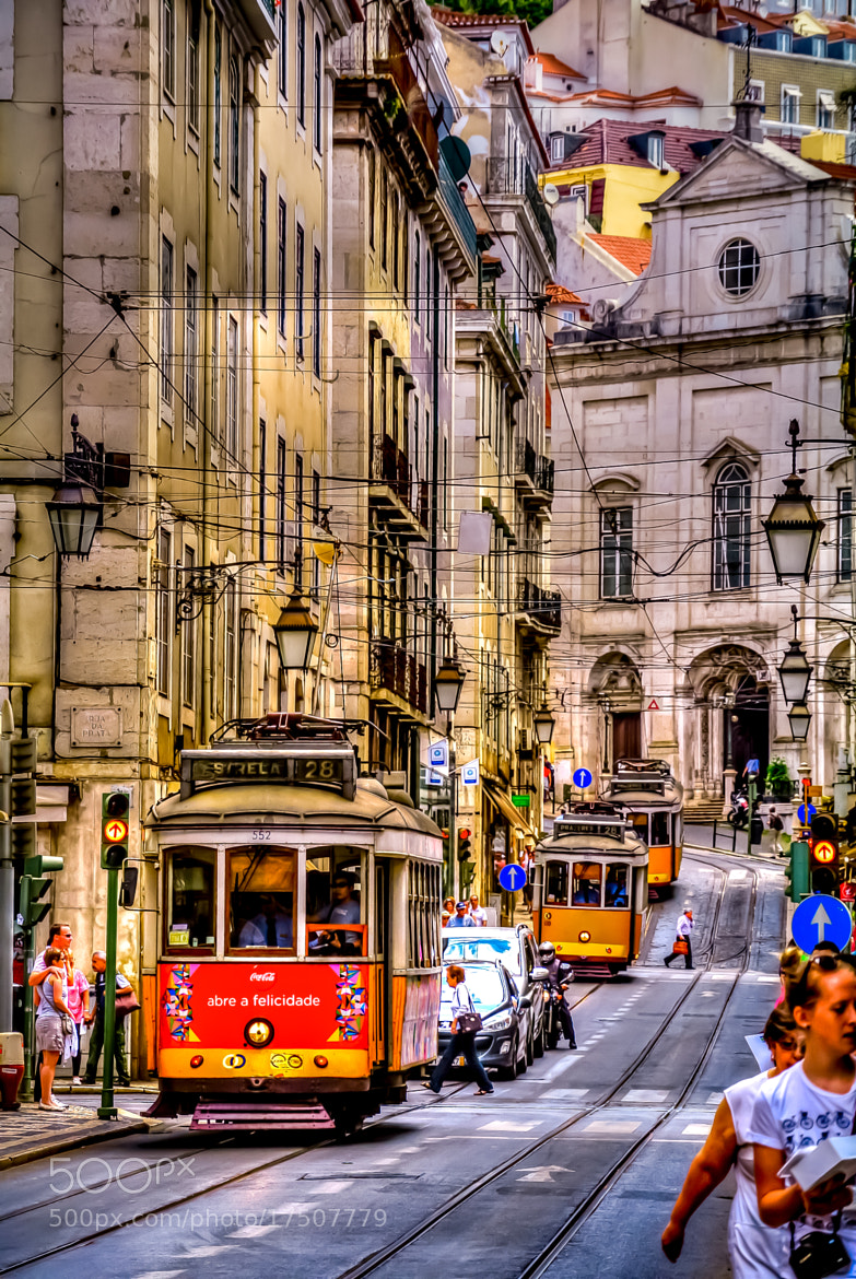Photograph Downtown, Lisbon, Portugal by António Farelo on 500px