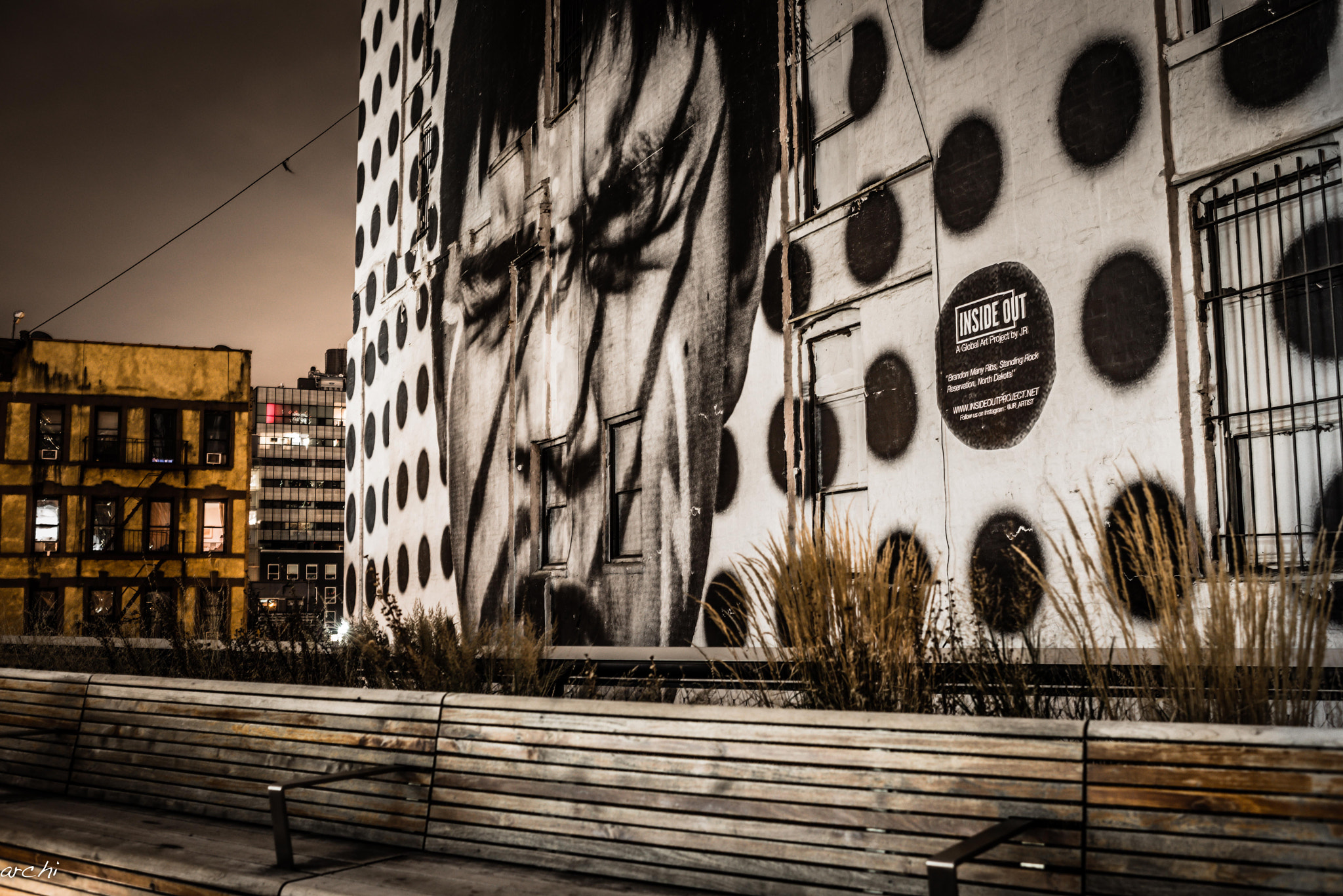 Photograph The big poster at Highline Park - NYC by Archana Patchirajan on 500px