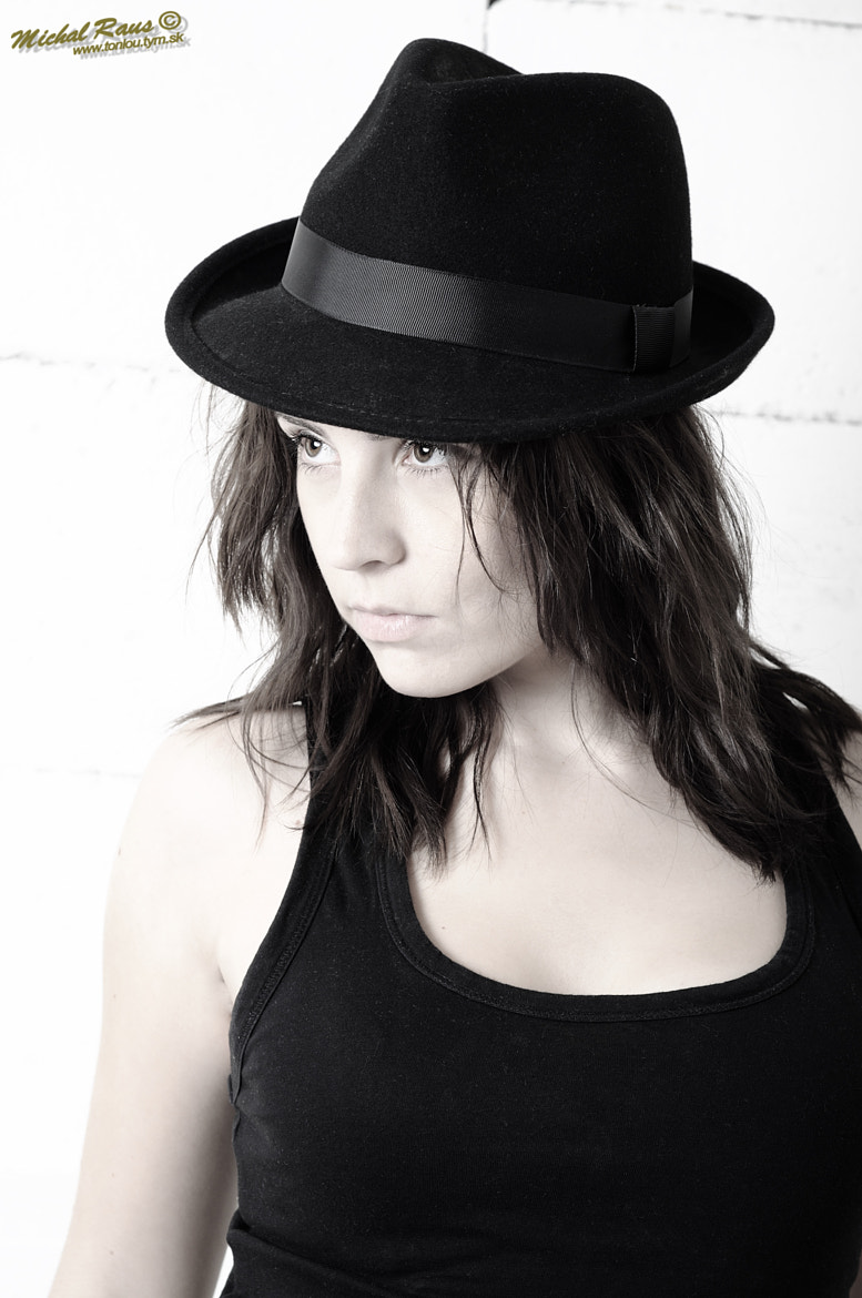 Photograph Andrea in hat  by Michal Raus on 500px