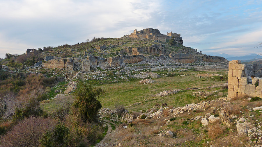 Acropolis of Tlos, Turkey by Alizada Studios on 500px.com