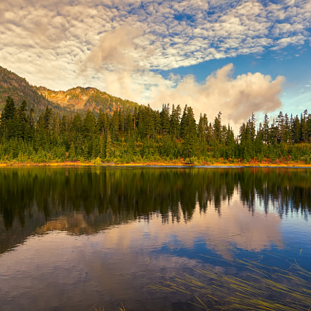 Morning at Picture Lake, Canon EOS 6D, Canon EF 24-105mm f/4L IS USM