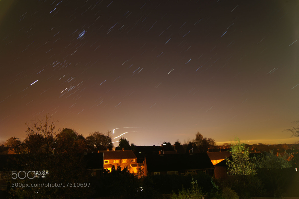 Photograph Star Trail III by Adhib M on 500px