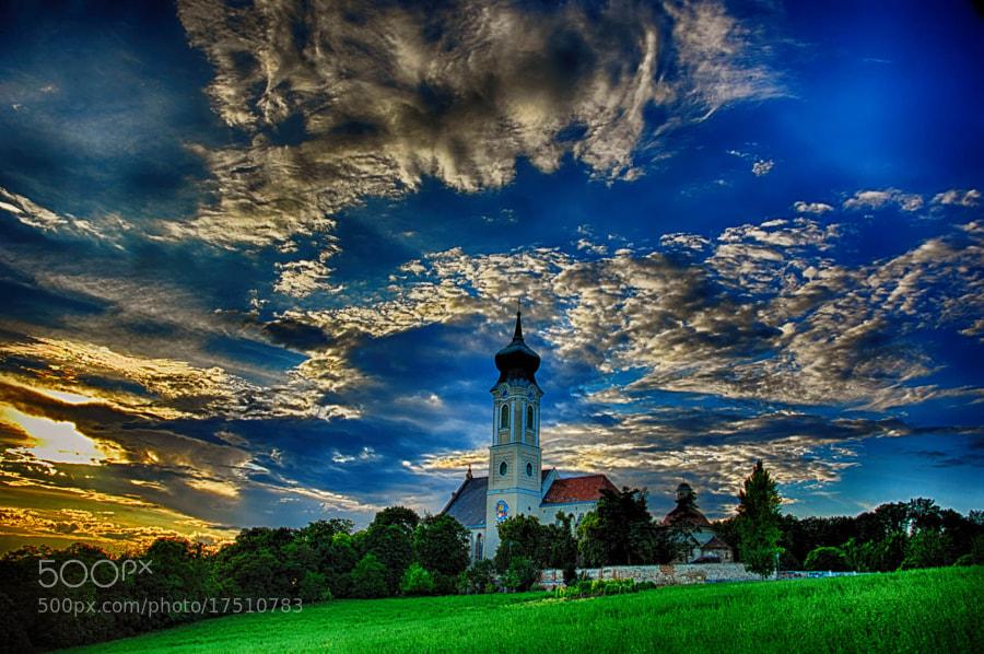 nature, clouds, sunset