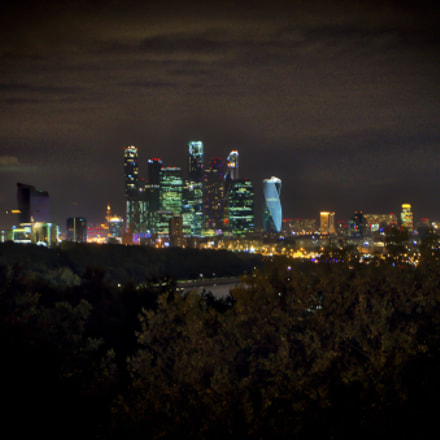 Moscow by Night, Sony ILCE-7M2, Sony FE 24-70mm F4.0 ZA OSS