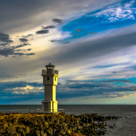 Projected lighthouse..., Nikon D7100, PC Micro-Nikkor 85mm f/2.8D
