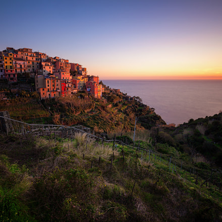 Corniglia @ sunset
