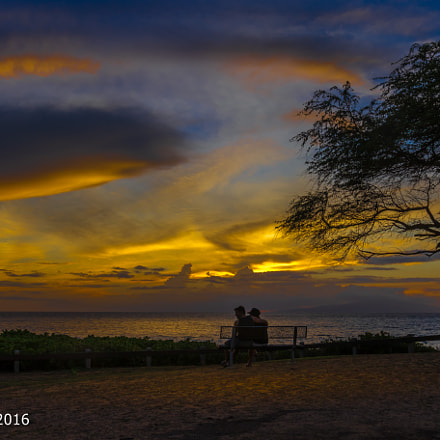 sunset in Maui, Canon EOS 7D MARK II, Sigma 18-35mm f/1.8 DC HSM
